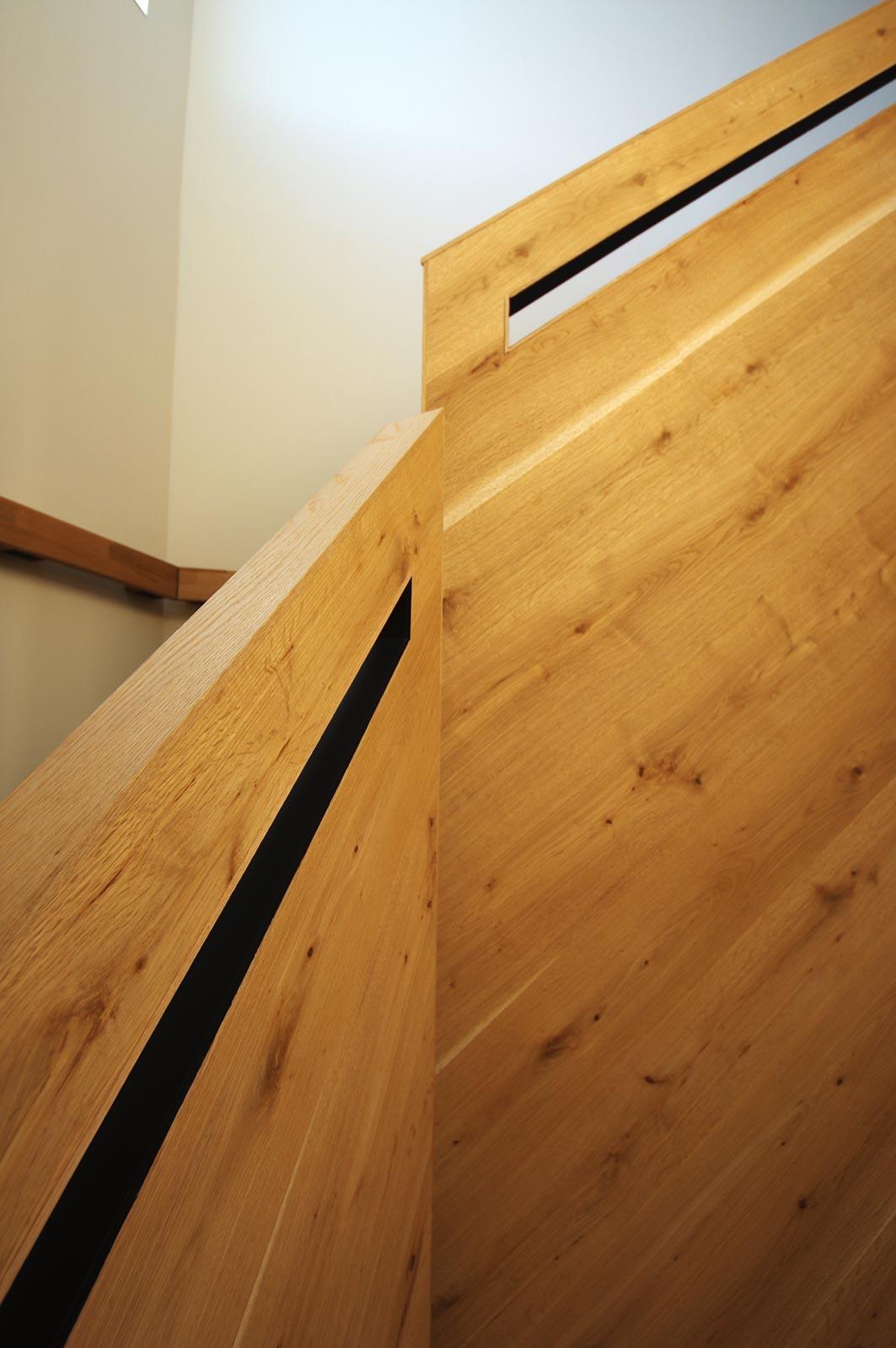 <p> 階段のてすり </p>