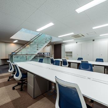 <p> 2階執務室 </p>