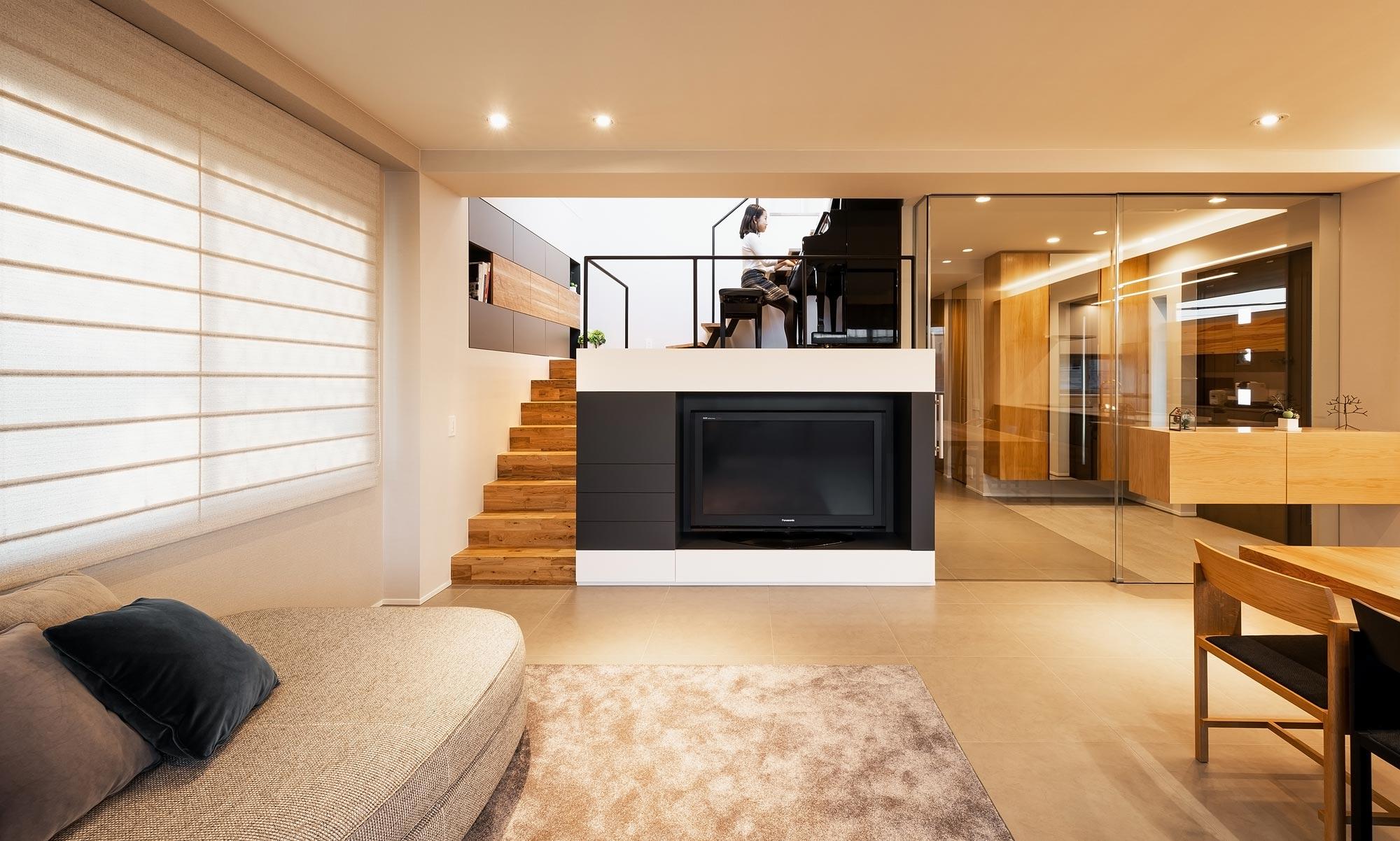 ピアノステージのある家Re: